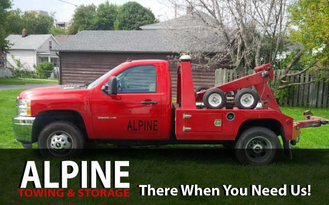 alpine towing & storage